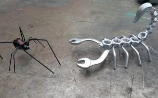 Оригинальные и полезные поделки из металла своими руками