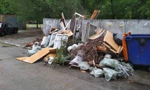 Определение крупногабаритного мусора (КГМ) и вывоз отходов
