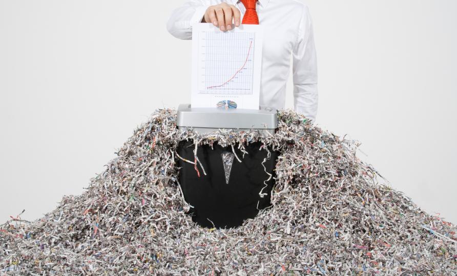 Картинки по запросу Как уничтожают ненужные документы