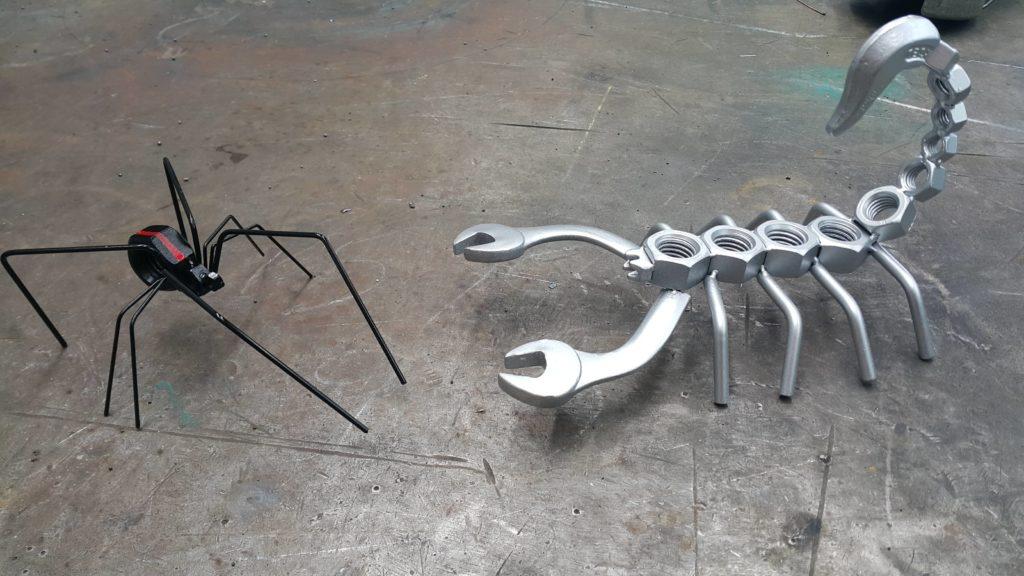 Фигуры из железа своими руками